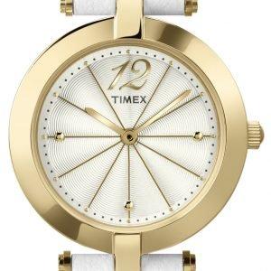 Timex Classic T2p542 Kello Valkoinen / Nahka