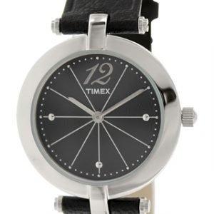 Timex Classic T2p544 Kello Musta / Nahka