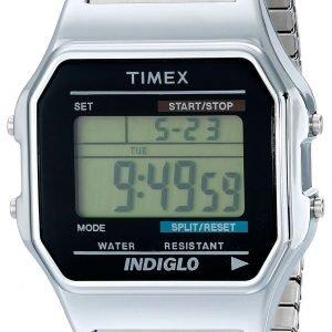 Timex Classic T78587 Kello Lcd / Teräs