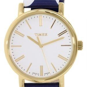 Timex Classic Tw2p63500 Kello Valkoinen / Nahka