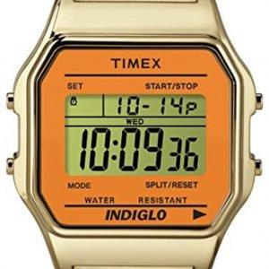 Timex Classic Tw2p65100 Kello Lcd / Kullansävytetty Teräs