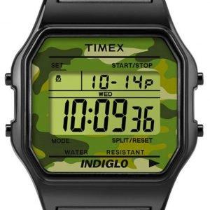 Timex Classic Tw2p67100 Kello Lcd / Teräs