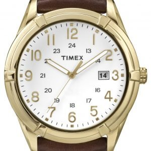 Timex Classic Tw2p76600 Kello Valkoinen / Nahka