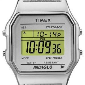 Timex Classic Tw2p76800 Kello Lcd / Nahka