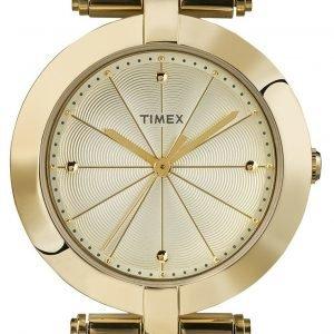 Timex Classic Tw2p79200 Kello Samppanja / Kullansävytetty