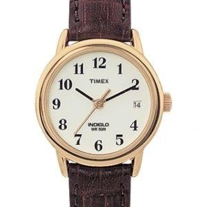 Timex Easy Reader T20071 Kello Valkoinen / Nahka