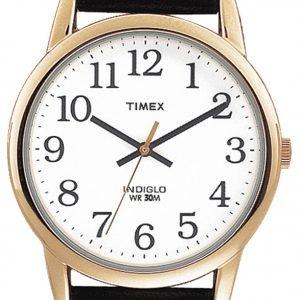 Timex Easy Reader T20491 Kello Valkoinen / Nahka