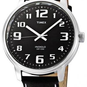 Timex Easy Reader T28071 Kello Musta / Nahka