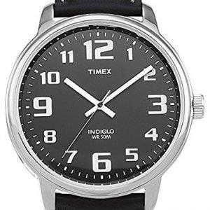 Timex Easy Reader T28071d7 Kello Musta / Nahka
