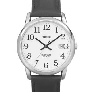 Timex Easy Reader T2h281 Kello Valkoinen / Nahka