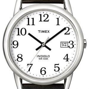 Timex Easy Reader T2h281d7 Kello Valkoinen / Nahka