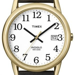 Timex Easy Reader T2h291d7 Kello Valkoinen / Nahka