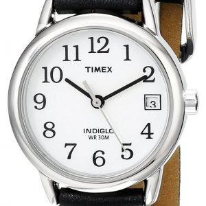 Timex Easy Reader T2h331 Kello Valkoinen / Nahka