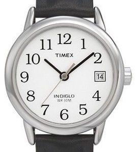 Timex Easy Reader T2h331d7 Kello Valkoinen / Nahka