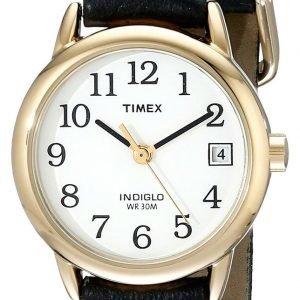Timex Easy Reader T2h341 Kello Valkoinen / Nahka