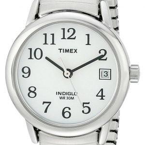 Timex Easy Reader T2h371 Kello Valkoinen / Teräs