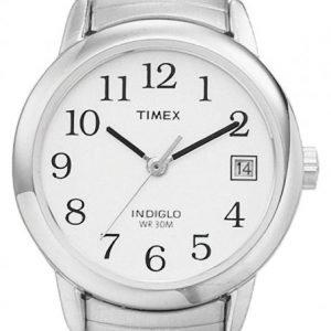 Timex Easy Reader T2h371d7 Kello Valkoinen / Teräs