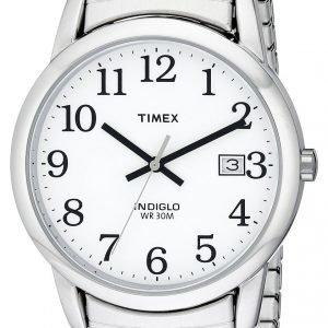 Timex Easy Reader T2h451 Kello Valkoinen / Teräs