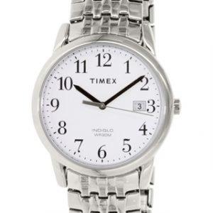 Timex Easy Reader T2p294 Kello Valkoinen / Teräs