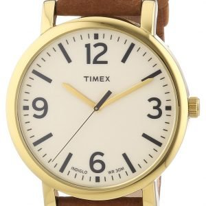 Timex Easy Reader T2p527 Kello Beige / Nahka