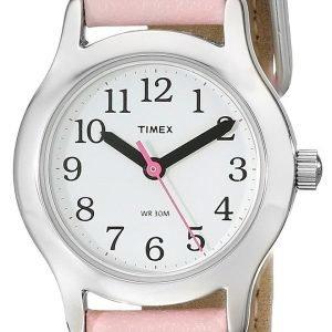 Timex Easy Reader T79081 Kello Valkoinen / Nahka
