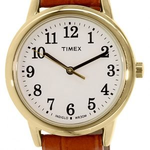 Timex Easy Reader Tw2p68800 Kello Valkoinen / Nahka
