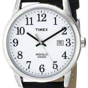 Timex Easy Reader Tw2p75600 Kello Valkoinen / Nahka