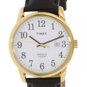 Timex Easy Reader Tw2p75700 Kello Valkoinen / Nahka