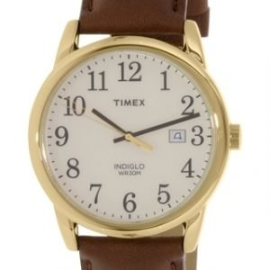 Timex Easy Reader Tw2p75800 Kello Valkoinen / Nahka