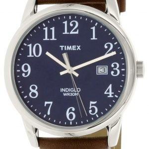 Timex Easy Reader Tw2p75900 Kello Sininen / Nahka