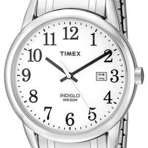 Timex Easy Reader Tw2p81300 Kello Valkoinen / Teräs