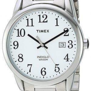 Timex Easy Reader Tw2r23300 Kello Valkoinen / Teräs