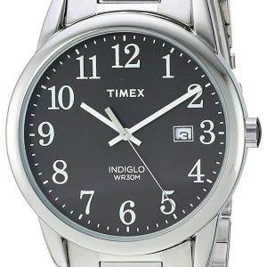 Timex Easy Reader Tw2r23400 Kello Musta / Teräs