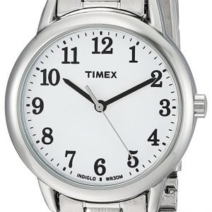Timex Easy Reader Tw2r23700 Kello Valkoinen / Teräs
