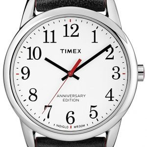 Timex Easy Reader Tw2r40000 Kello Valkoinen / Nahka