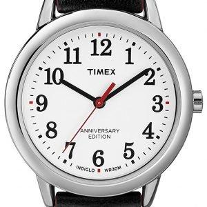 Timex Easy Reader Tw2r40200 Kello Valkoinen / Nahka