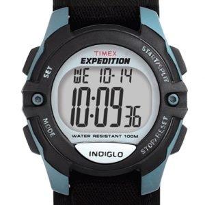 Timex Expedition T41091 Kello Lcd / Tekstiili