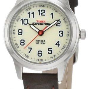 Timex Expedition T41181su Kello Valkoinen / Tekstiili