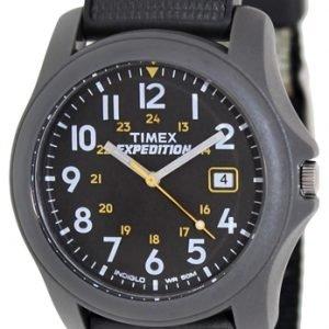 Timex Expedition T42571 Kello Musta / Tekstiili