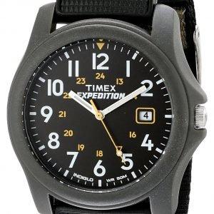 Timex Expedition T425714e Kello Musta / Tekstiili