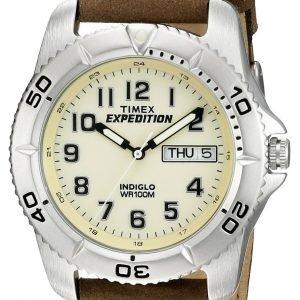Timex Expedition T46681d7 Kello Beige / Nahka