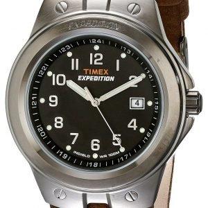 Timex Expedition T49631 Kello Musta / Nahka