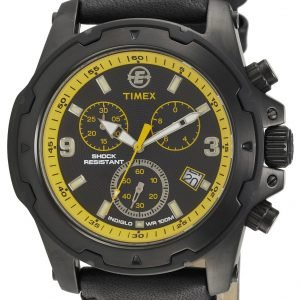 Timex Expedition T497839j Kello Musta / Nahka