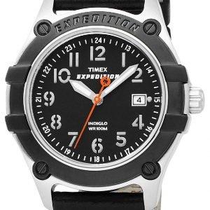Timex Expedition T49806 Kello Musta / Nahka
