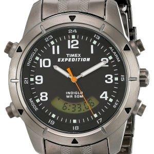 Timex Expedition T498269j Kello Musta / Teräs