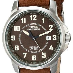 Timex Expedition T49891 Kello Ruskea / Nahka