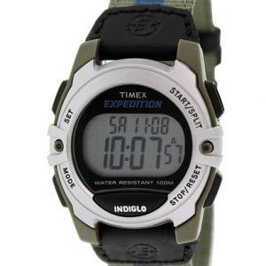 Timex Expedition T49958 Kello Lcd / Nahka