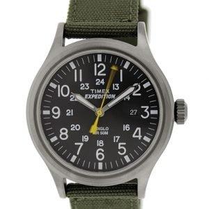 Timex Expedition T49961 Kello Musta / Tekstiili