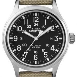 Timex Expedition T49962 Kello Musta / Tekstiili