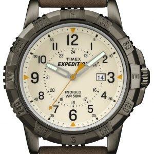Timex Expedition T49990 Kello Beige / Nahka